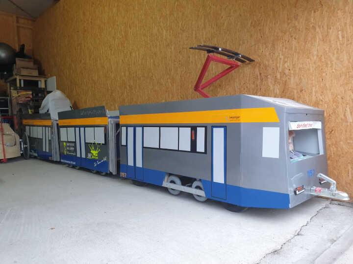 Minitram1157 Fuhrpark Waffenschmiede Kitzscher
